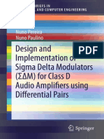 Design and Implementation of Sigma Delta Modulators (ΣΔM) for Class D Audio Amplifiers Using Differential Pairs