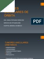 Tumores Vasculares de Orbita