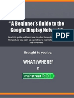 A Beginner's Guide to the Google Display Network