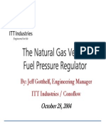 Ngv Fuel Pressure Regulator