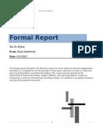 formal report engl 310