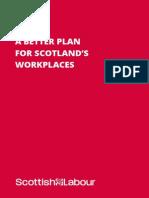 Scottish Labour Workers' Manifesto