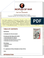 Karl von Clausewitz - Principles of War