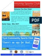 TCSC April Newsletter