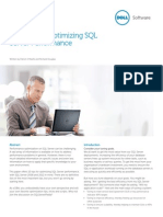 Ten Tips for Optimizing SQL Server Performance