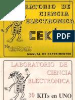Cekit Curso Mr. Electronico Cekit Con Enigma
