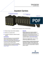 DeltaV I-O Subsystem Carriers PDS January 2008
