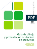 Guia de Dibujo y Presentacion de Disenos de Productos