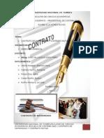 Contrato de Matrimonio y Contrato Mutuo