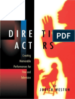 Judith Weston - Directing Actors
