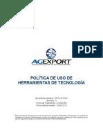 20100623-Política de Uso de Herramientas de Tecnología v3