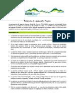 Declaracion de Loja Sobre Los Paramos 2009 (Final)