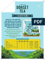 Dorset Tea Trade Presenter