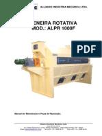 Manual Peneira ALPR 1000F - LASA