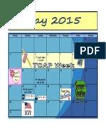 5 May Calendar