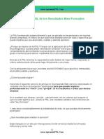 Ejercicio PNL de Resultados Bien Formados - AprenderPNL