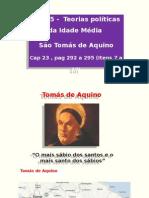 Aula 5 Teoria Política de Tomás de Aquino