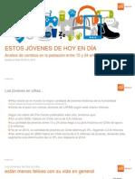 Perfil Del Jóven Chileno (15 a 24 Años)