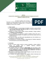 Edital Retificado - CASM 2015