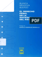 Blanca Mendoza Buergo - El derecho penal en la sociedad del riesgo.pdf