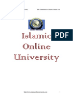 Foundation of Islamic study Module 3 (3/5)