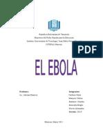 Trabajo Sobre Ebola..