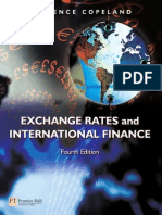 Exchange Rate and International Finance 4e Copeland