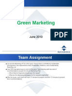 Green Marketing June 2010