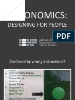 i Eh f Ergonomics Careers Presentation