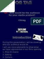 Media Evaluation - Question 4 - Chirag