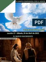 Lección 17 - La Obra Del Espíritu Santo Comparada Con El Viento