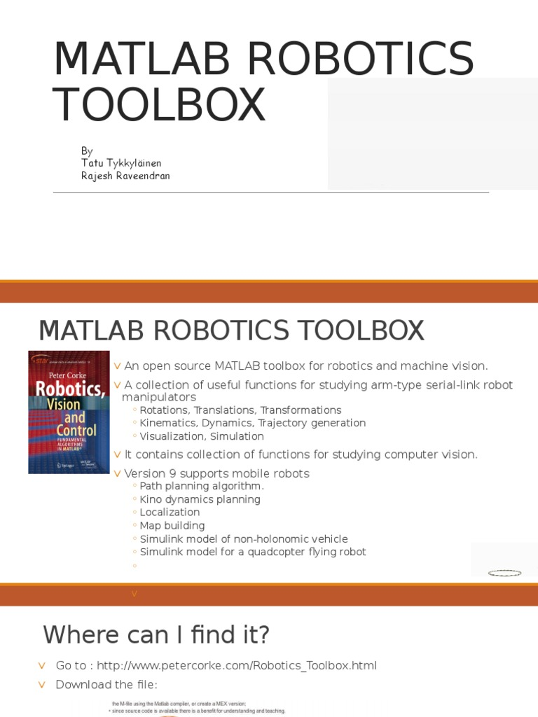 Matlab open toolbox