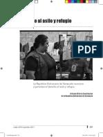La Situacion Del Derecho de Asilo y Refugio en Venezuela - 2011