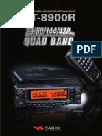 FT 8900R Brochure