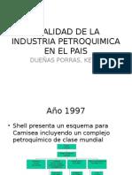 Realidad de La Industria Petroquimica en El Pais