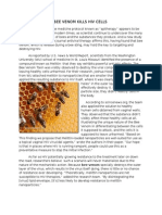 Bee Venom Kills Hiv Cells