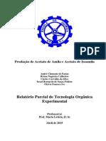 Relatório Parcial Para Produção de Acetato Amílico - Rev 6