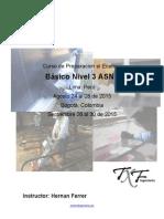 Curso Preparación Examen ASNT Basic