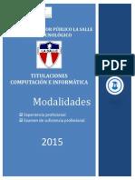 Titulacion 2015 LA SALLE