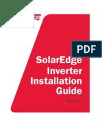 Solaredge Installation Guide