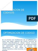 Optimizacion de Codigos