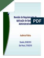 ANATEL - ESTRUTURA DO REGULAMENTO DE APLICAÇÕES DE MULTAS E SANÇÕES DA ANATEL.pdf