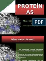 Clase 6 Proteinas- DR CESAR GUZMAN VIGO