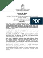 Acuerdo 007 de 2010