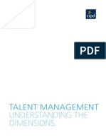 Talent Management Understanding the Dimensions