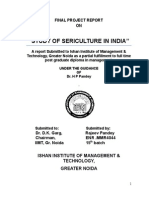 """""""Study of Sericulture in India"""""""