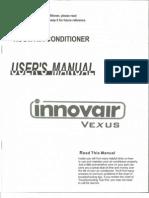 INNOVAIR EV Vexus Mini Splits User Manual 1st Gen