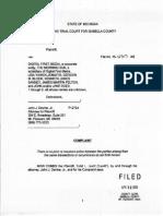 Todd Levitt Complaint 2015