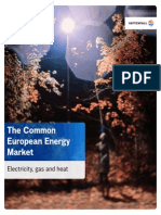 Common European Energy Market 2011