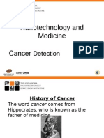 JH History of Cancer Presentation Updated September 2011